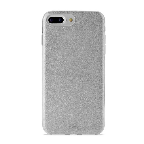 Puro Shine Cover - iPhone 6 Plus / 6s Plus / 7 Plus / 8 Plus - silver