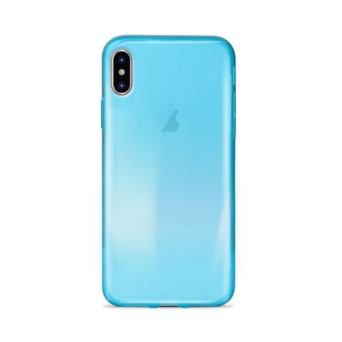 Puro 0.3 Nude Cover - iPhone X/XS - blue