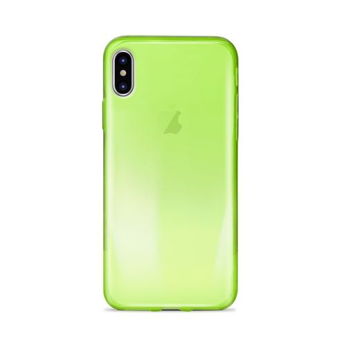 Puro 0.3 Nude Cover - iPhone X - green