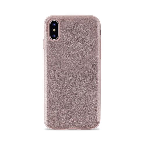Puro Shine Cover - iPhone X/XS - rose gold