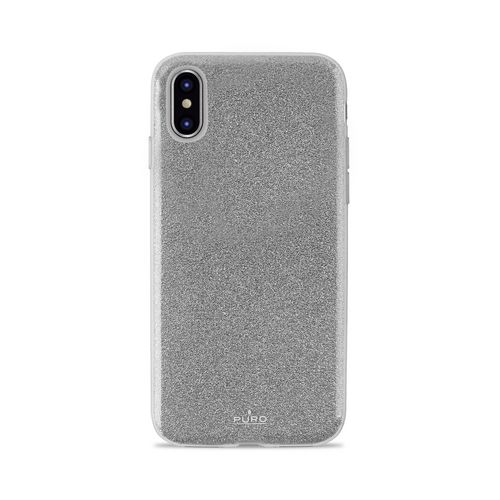 Puro Shine Cover - iPhone X - silver
