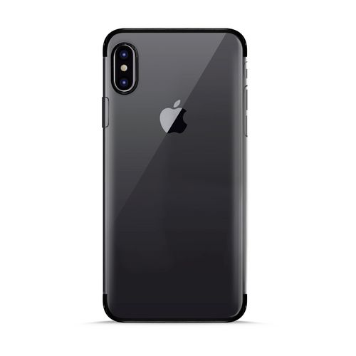 Puro Verge Crystal Cover - iPhone X/XS - black