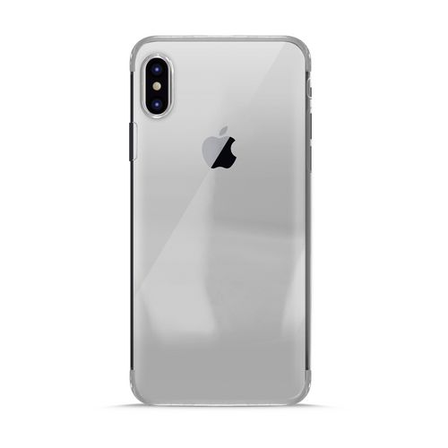 Puro Verge Crystal Cover - iPhone X - silver