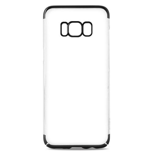 Puro Verge Crystal Cover - Samsung Galaxy S8+ - black