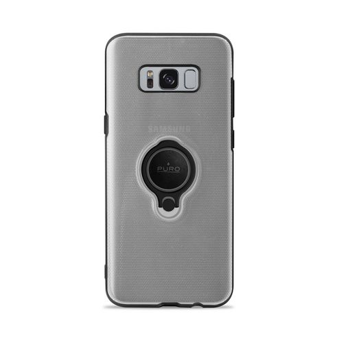 Puro Magnet Ring Cover - Samsung Galaxy S8 - transparent