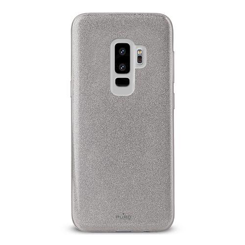 Puro Shine Cover - Samsung Galaxy S9+ - silver