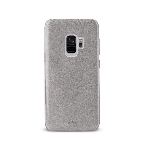 Puro Shine Cover - Samsung Galaxy S9 - silver