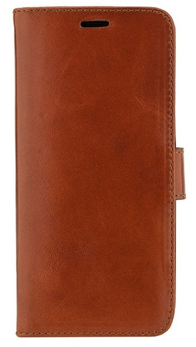 Valenta Leather Booklet Classic Luxe - Samsung Galaxy S9 - brown