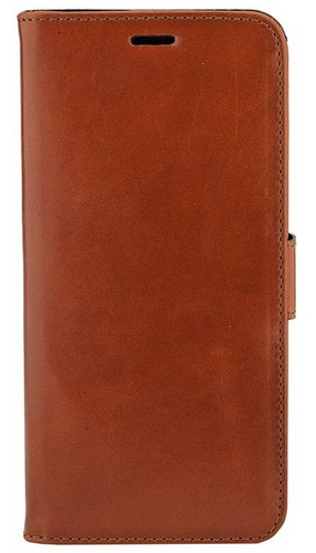 Valenta Leather Booklet Classic Luxe - Samsung Galaxy S9 + - brown
