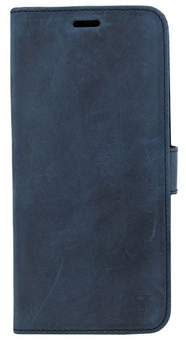 Valenta Leather Booklet Classic Luxe - Samsung Galaxy S9 + - vintage blue