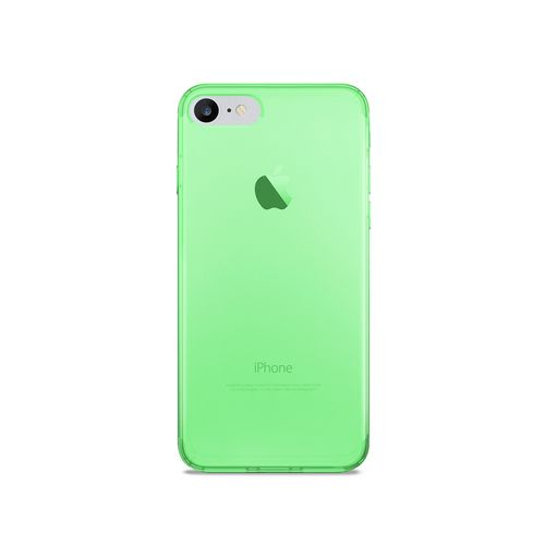 Puro 0.3 Nude Cover - iPhone 7/8 - fluo green