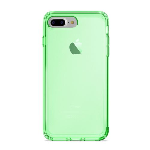 Puro 0.3 Nude Cover - iPhone 7 Plus /8 Plus (5.5 Screen) - fluo green
