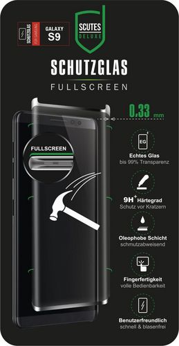 Scutes 3D Glass Screen Protector - Galaxy S9
