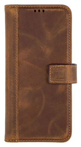 Scutes Booklet Case - Galaxy S9+ - antic brown