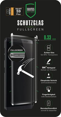 Scutes 3D Glass Screen Protector - Galaxy S9+