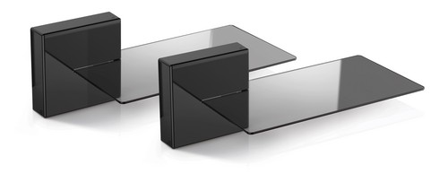 Ghost Cubes: SOUNDBAR (2x Shelf, 2x Cubes) - black