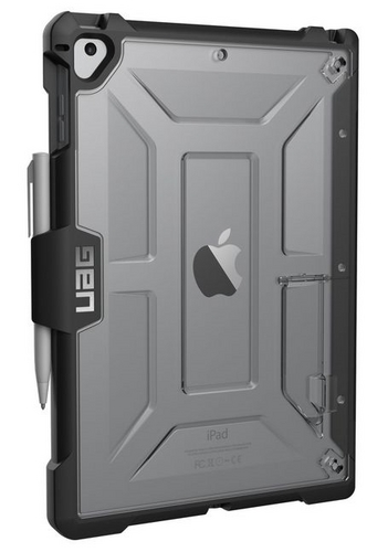 UAG Plasma Case - iPad 2017 (9.7 Screen) - ice (transparent)