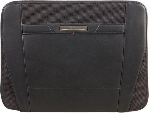 Stationery Pro-DLX 5 Zip Folder A4 - black