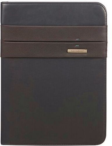 Stationery Spectr 2 Zip Folder A4 - black