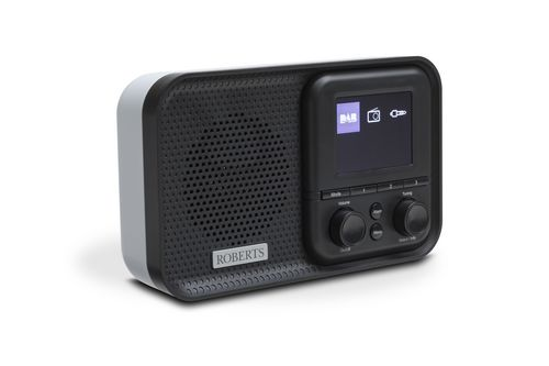 Roberts Play M5 Portable DAB+ Radiowecker - black