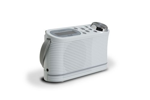 Roberts Play 10 Portable DAB+ Radio - white