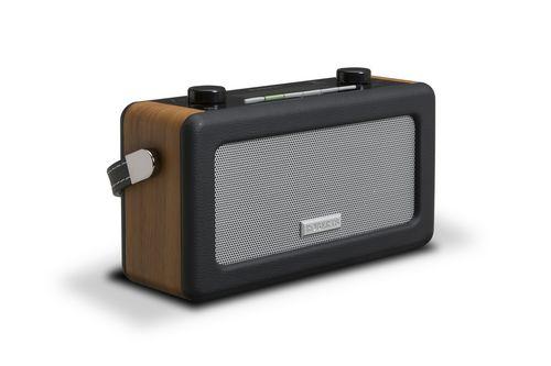 Roberts Vintage Portable DAB+ Radio - black/wood