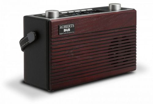 Roberts Classic BluTune Portable DAB+/ BT Radio - black/ wood