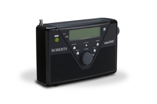 Roberts SolarDAB2 Portable DAB+ Radio - black