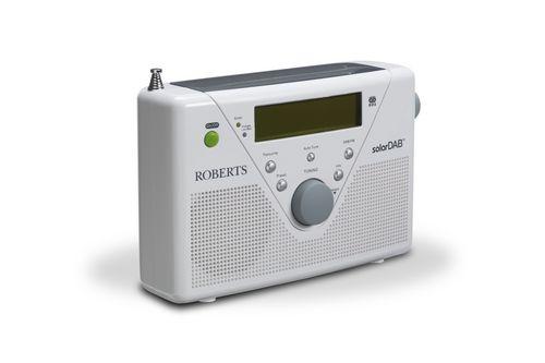 Roberts SolarDAB2 Portable DAB+ Radio - white