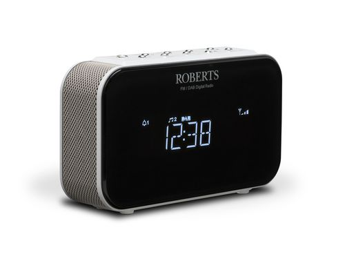 Roberts Ortus 1 DAB+ Radiowecker - white
