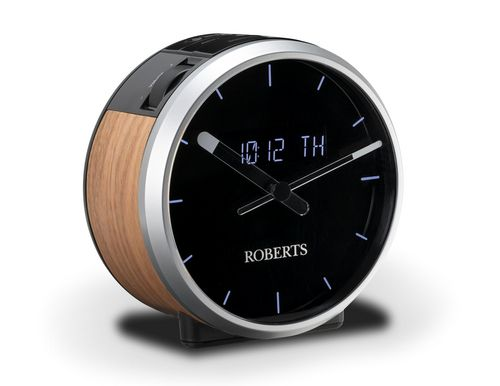 Roberts Ortus Time DAB+ Radiowecker - black/wood