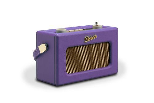 "Roberts Revival Uno DAB+ Radiowecker ""Spring Collection"" - purple haze"
