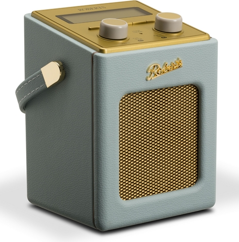 Roberts Revival Mini DAB+ Radio - duck egg