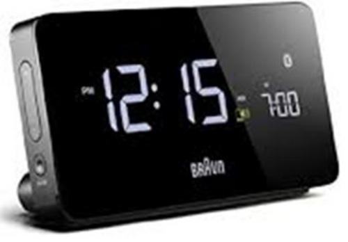 BRAUN LCD Wecker digital BNC020  (Schwarz)
