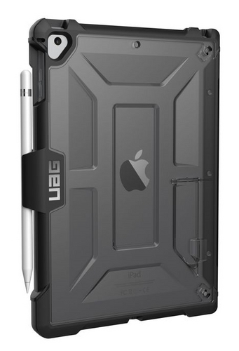 UAG Plasma Case - iPad 2017 (9.7 Screen) - ash (transparent)