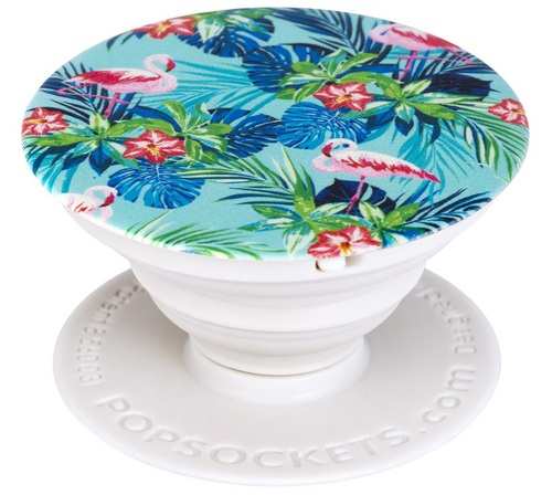 PopSocket Rainforest Flamingos