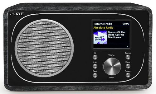 Pure Evoke F3 FM/DAB+/Internet Radio - black