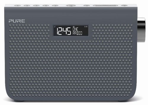 Pure One Midi Series 3s FM/DAB+ Radio - slate blue