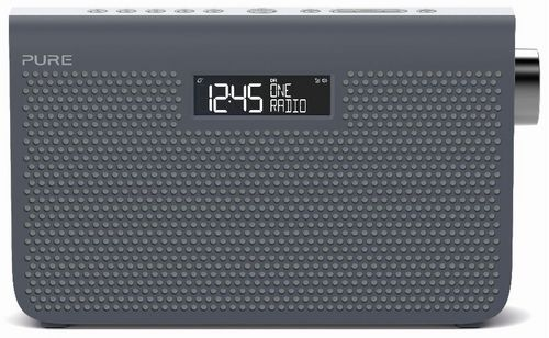 Pure One Maxi Series 3s FM/DAB+ Radio - slate blue