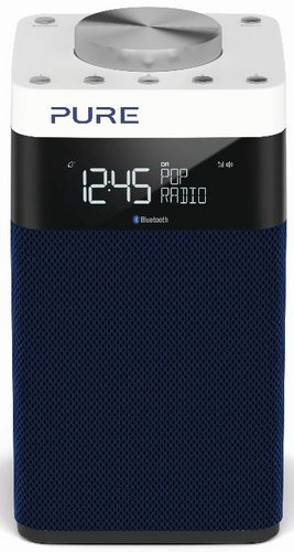 Pure Pop Midi S FM/DAB+/BT Radio - navy