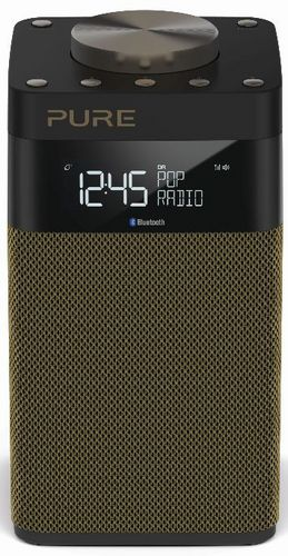 Pure Pop Midi S FM/DAB+/BT Radio - gold