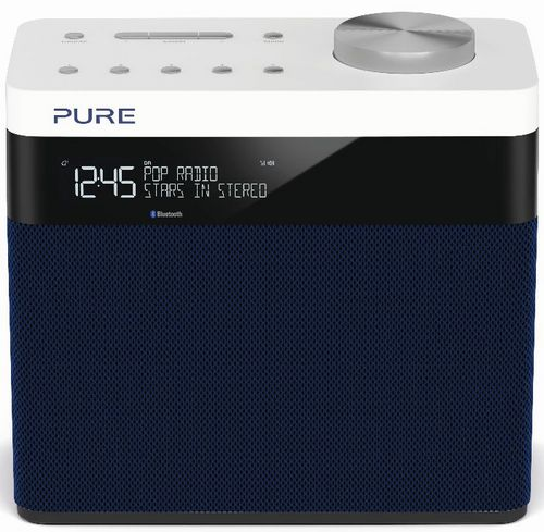 Pure Pop Maxi S FM/DAB+/BT Radio - navy