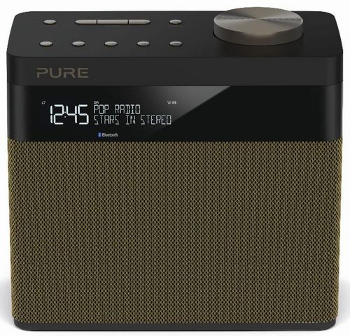 Pure Pop Maxi S FM/DAB+/BT Radio - gold