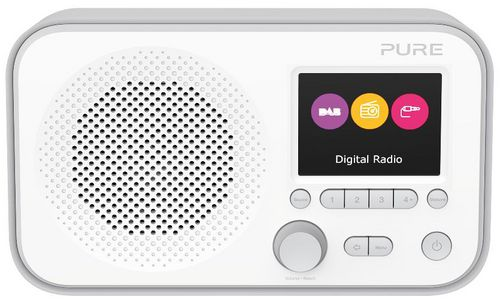 Pure Elan E3 FM/DAB+ Radio - grey