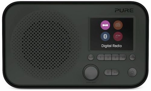 Pure Elan BT3 FM/DAB+/BT Radio - graphite