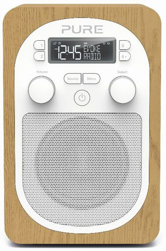 Pure Evoke H2 FM/DAB+ Radio - oak