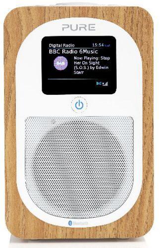 Pure Evoke H3 FM/DAB+/BT Radio - oak