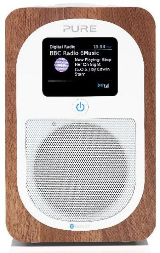 Pure Evoke H3 FM/DAB+/BT Radio - walnut