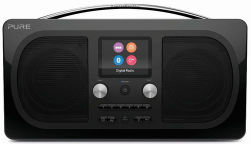 Pure Evoke H6 FM/DAB+/BT Clock Radio - black