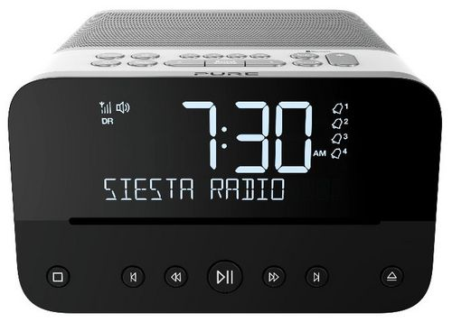 Pure Siesta Home FM/DAB+/BT Radio and CD Player - polar